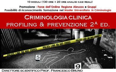Corso di Alta Formazione in Criminologia Clinica
